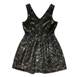 Gorgeous One Clothing Metallic Dress